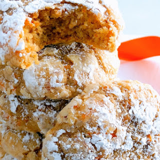 Carrot Cake Gooey Butter Cookies – Best Ever {from scratch!}