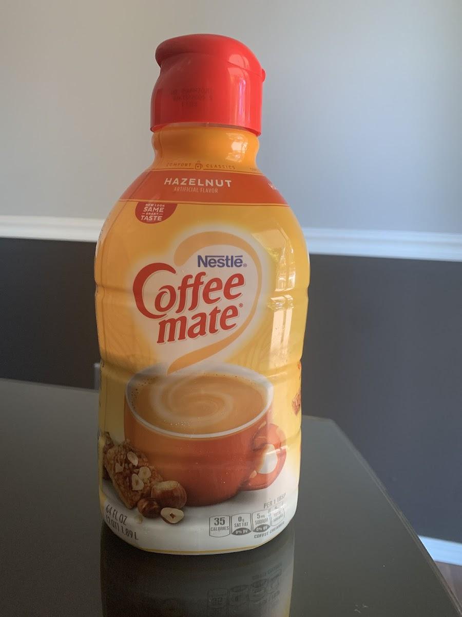 Hazelnut Coffeemate