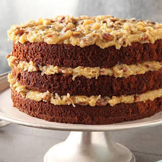 German Chocolate Cake Without Coconut Recipes.