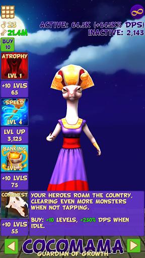 Tap Tap Infinity - Idle RPG 1.7.14 screenshots 4