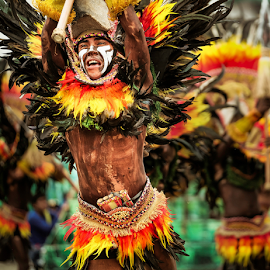 Lost Dagger by Chipoy Cruz - People Portraits of Men ( tribe, dinagyang, festival, emotion )