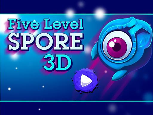 Five Level Spore 3D