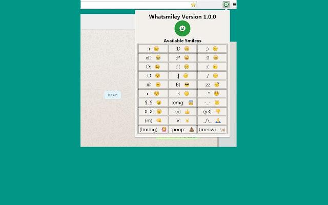 WhatSmiley - Smileys for Whatsapp Web