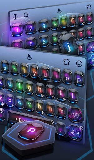 PC u7528 Technological Keyboard Theme 1