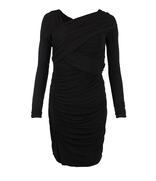 Photo: Taka Rianne Dress>>  UK>http://bit.ly/M8iFC5 US>http://bit.ly/KVV0Cz  Viscose jersey dress with dry hand feel and heavy drape developed on the stand using the concept of bandaging and strapping. The Taka Rianne dress has a flattering slim silhouette and a matte, formal look.