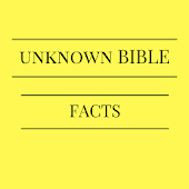 Unknown Bible Facts And Quotes.