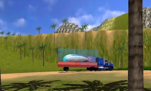Transport Truck Shark Aquarium screenshot 5