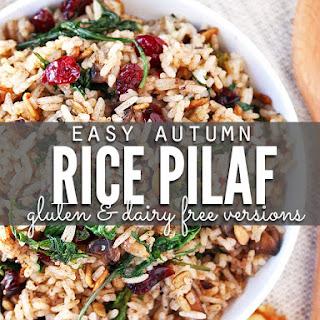 Autumn Rice Pilaf