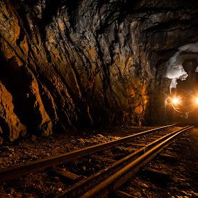 the tunnel by Sorin Tanase - Transportation Trains ( maramures, viseu de sue, mocanita, train, romania )