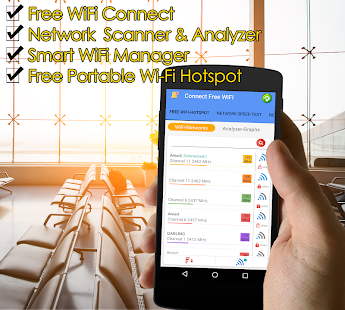 Free WiFi Connect Internet Connection Find Hotspot Screenshot