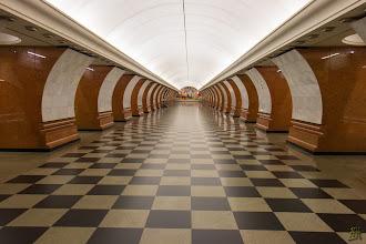 Photo: The Victory Park metro station https://en.wikipedia.org/wiki/Park_Pobedy_(Moscow_Metro)