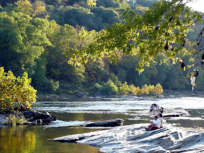 Photo: In spring and fall this stretch of the Shenandoah is popular for white water rafting. In summer it moves to the Potomac. http://www.riverriders.com/RRMain.asp?Option=Detail&Activity=Rafting&TripID=1Harpers Ferry was stricken with record-making 26 ft floods in 1870 and 1936.