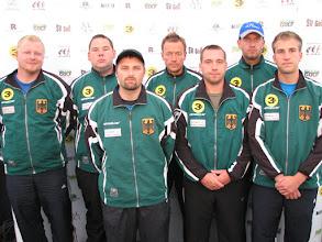 Photo: Germany. Achim Braungart Zink, Alexander Geist, Marcel Noack, Walter Erlbruch, Marco Henning, Harald Erlbruch and Dennis Kapke (Photo: Bengt Svensson)