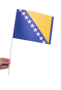 Pappersflagga, Bosnien Hercegovina