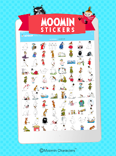 Moomin Sticker App