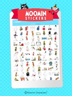 Moomin Sticker Appのおすすめ画像5