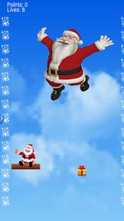 Falling Santa - náhled