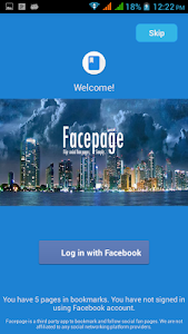 Facepage Lite screenshot 0