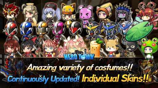 Heroes Town online : 2D MMORPG 4.23 screenshots 5