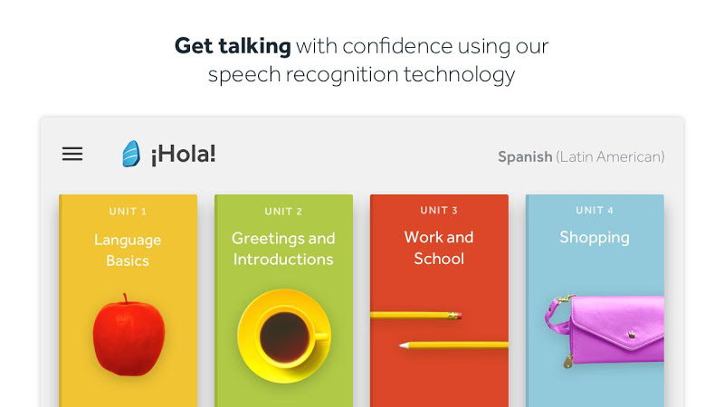 Rosetta Stone: Learn to Speak & Read New Languages Screenshot 1