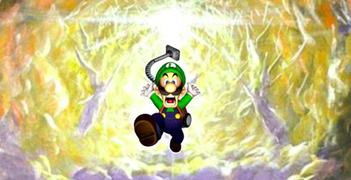Luigi's Mansion Dante's Inferno - all hail
