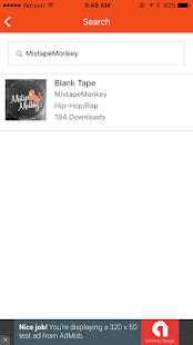 MixtapeMonkey- screenshot thumbnail