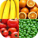 Fruit and Vegetables, Nuts & Berries: Picture-Quiz APK