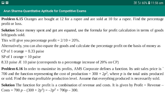Download Arun Sharma-Quantitative Aptitude for Competitive. For PC Windows and Mac apk screenshot 5