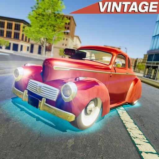 Vintage Car Driving Simulator