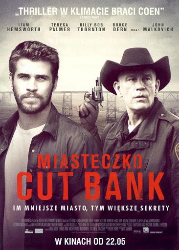 Przód ulotki filmu 'Miasteczko Cut Bank'