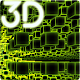 Infinite Cubes Particles 3D Live Wallpaper icon