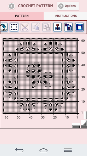 Filet Crochet Pattern Creator 1.6.2 screenshots 2