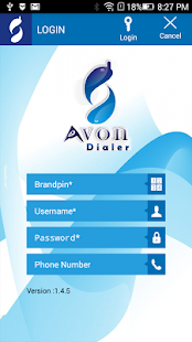 Avon Dialer- screenshot thumbnail