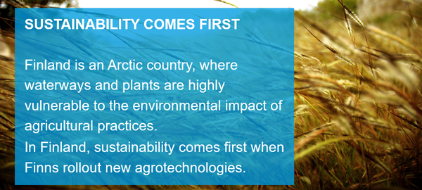 Sustainability comes first