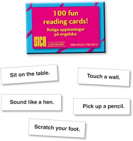 100 Fun Reading Cards- 7762-361-8