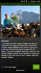 Jungfrau Region Travel Guide screenshot 0