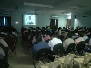 Photo: At Aurangabad more than 100 educationist joined the webtelecast