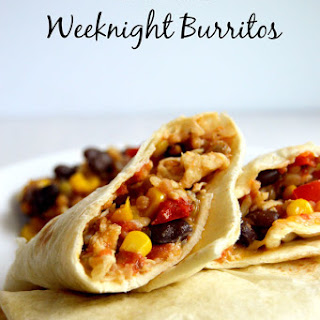 10 Minute Weeknight Burritos