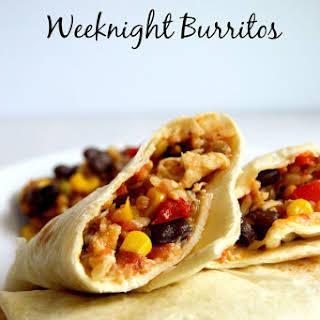 10 Minute Weeknight Burritos.