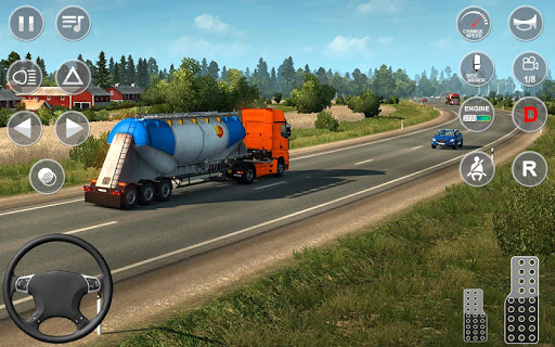Euro Truck Transport Simulator 2: Cargo Truck Game screenshots 8