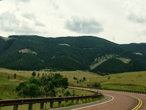 Photo: There's the Big Horn Mountains. The mountain range is two words, but the forest and river are one: Bighorn.