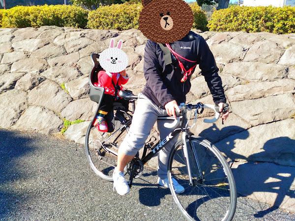 自転車 走り初め
