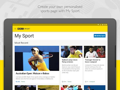 BBC Sport Screenshot 9