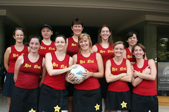 Photo: The Hanoi oi netballers played the same weekend with us in Bangkok
