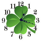Lucky Charm Clock Widget