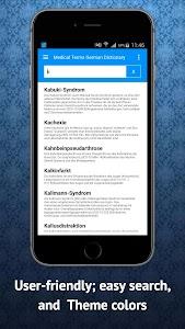 Medical Dictionary German screenshot 6