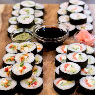 Instant Pot Sushi Rice.