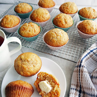Easy Carrot Pineapple Muffins Recipe