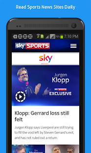 Daily Online News for Sports- screenshot thumbnail