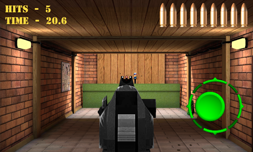 Pistol shooting at the target.  Weapon simulator 4.0 screenshots 5